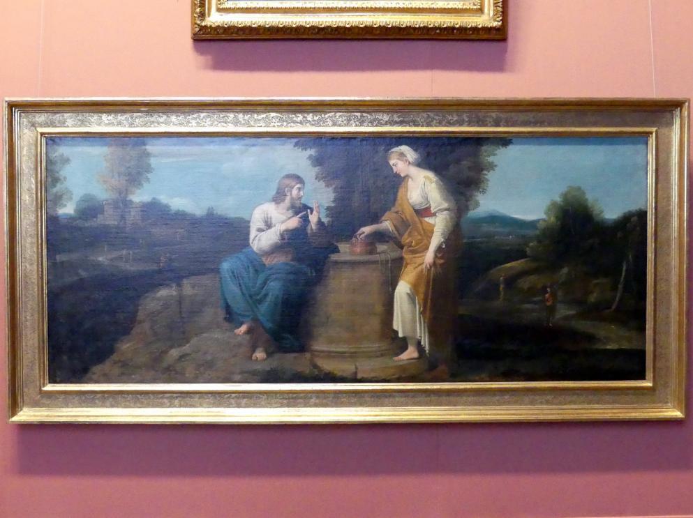 Annibale Carracci: Christus und die Samariterin am Brunnen, um 1604 - 1605