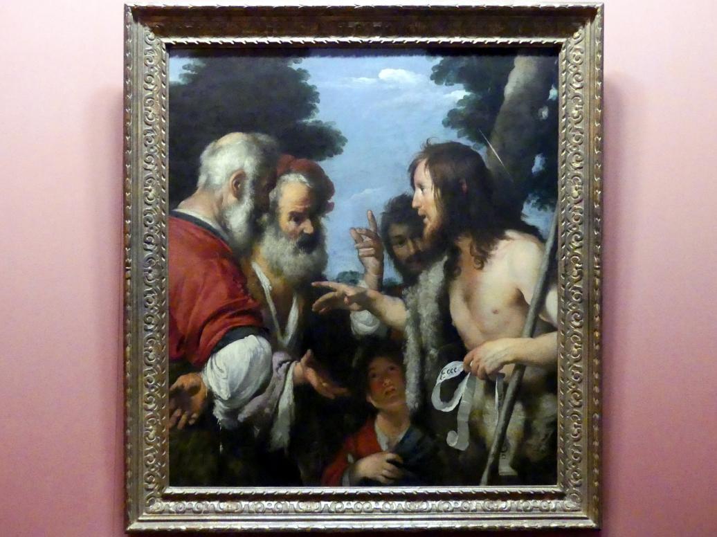 Bernardo Strozzi: Predigt Johannes des Täufers, um 1644