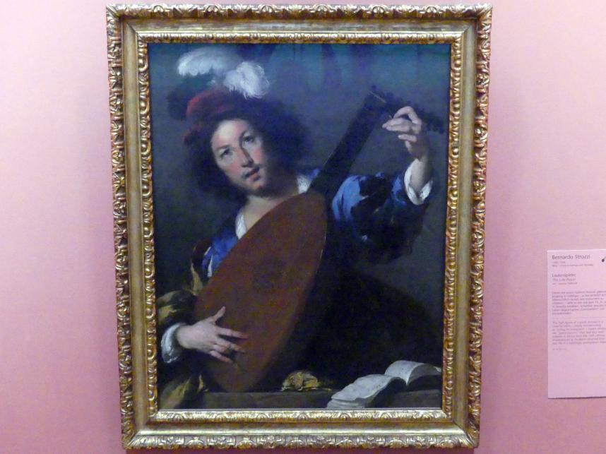 Bernardo Strozzi: Lautenspieler, um 1640 - 1644