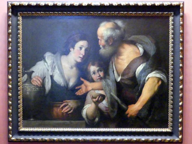 Bernardo Strozzi: Der Prophet Elias und die Witwe von Sarepta, um 1640 - 1644