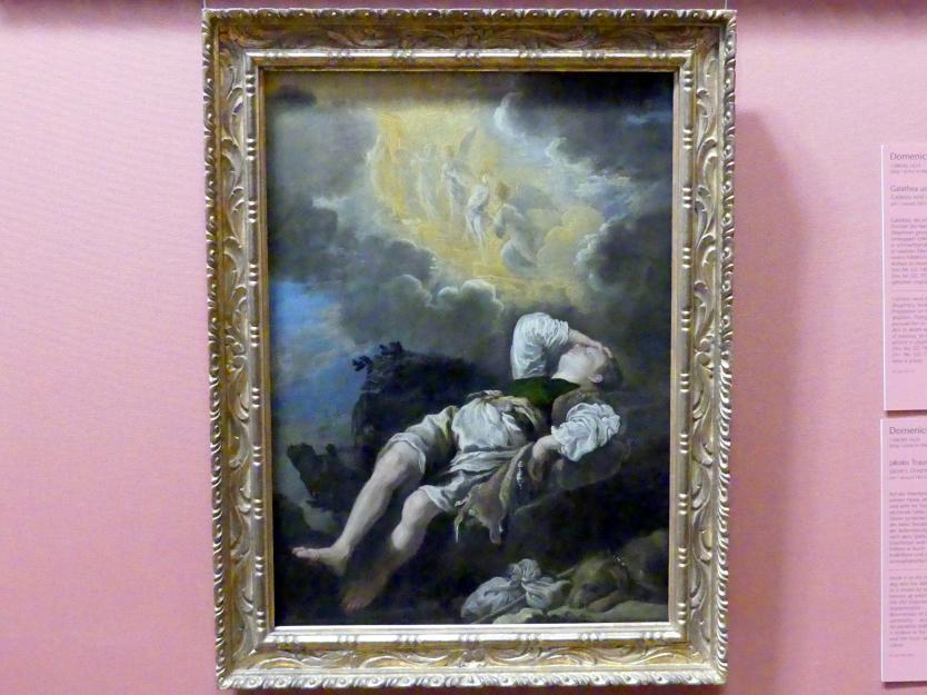 Domenico Fetti: Jakobs Traum von der Himmelsleiter, um 1613