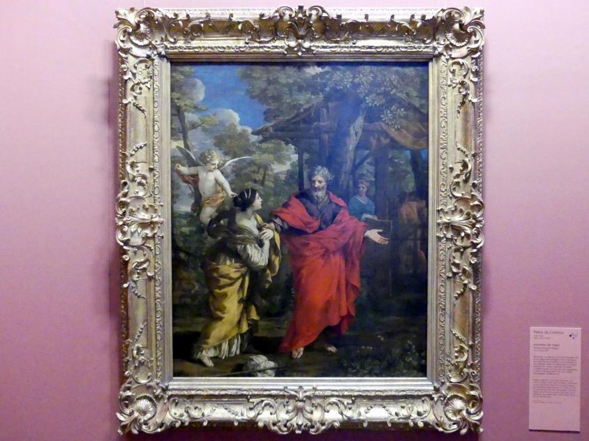 Pietro da Cortona: Heimkehr der Hagar, um 1637