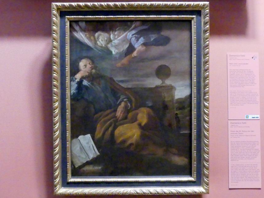 Domenico Fetti: Vision des Hl. Petrus von den unreinen Tieren, Um 1619
