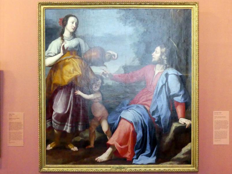 Lorenzo Lippi: Christus und die Samariterin, 1644