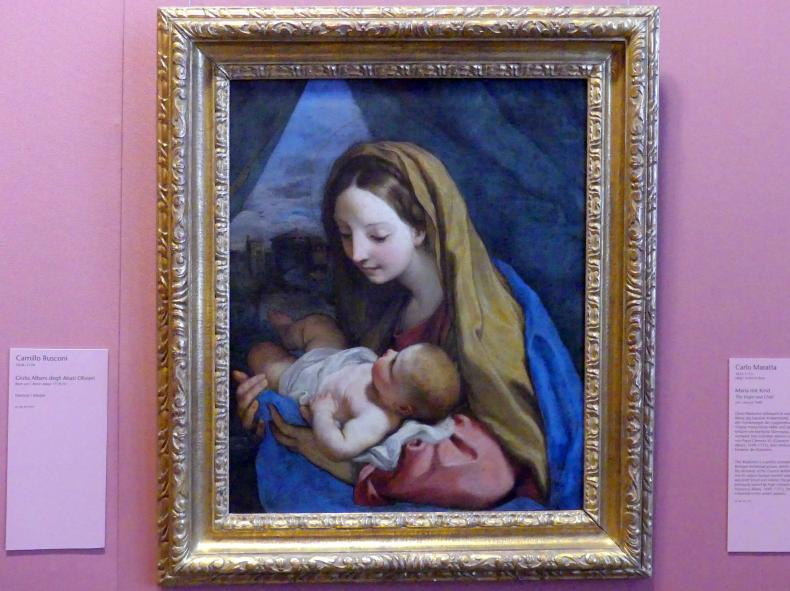 Carlo Maratta: Maria mit Kind, um 1660