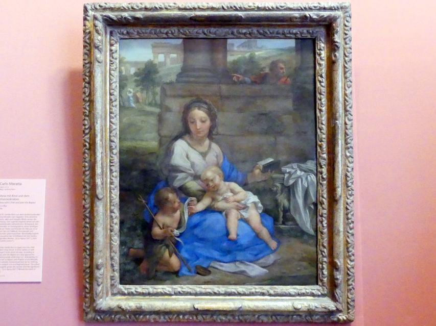 Carlo Maratta: Maria mit Kind und dem Johannesknaben, 1704