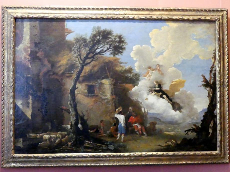 Salvator Rosa: Wiederkehr der Astraea, um 1640 - 1645