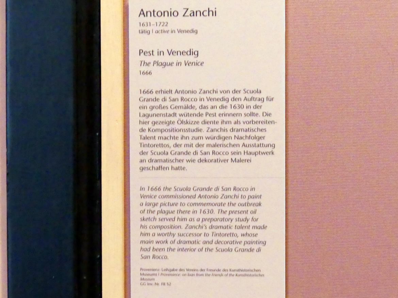 Antonio Zanchi: Pest in Venedig, 1666, Bild 2/2