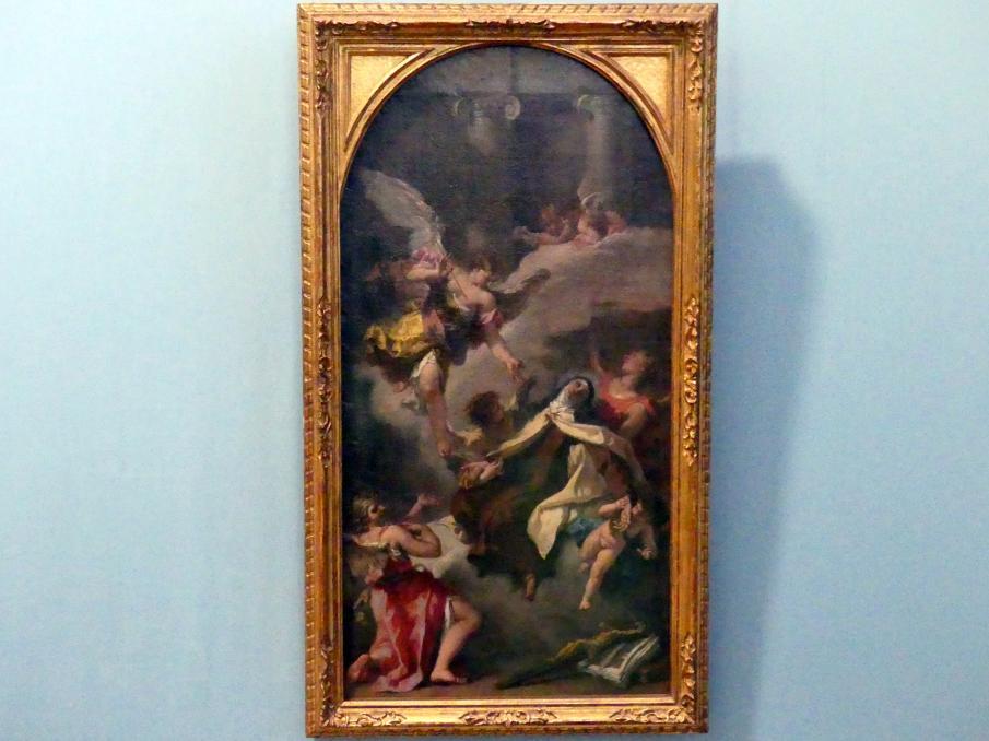 Sebastiano Ricci: Verzückung der hl. Teresa von Avila, Um 1727