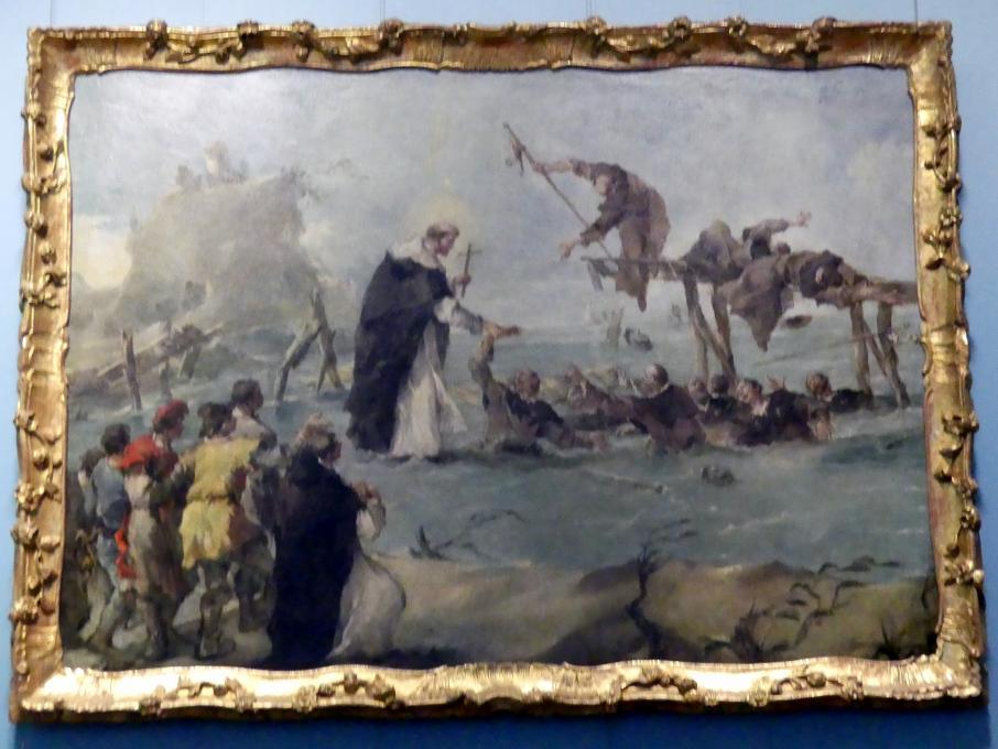 Francesco Guardi: Wunder eines Dominikanerheiligen, 1763