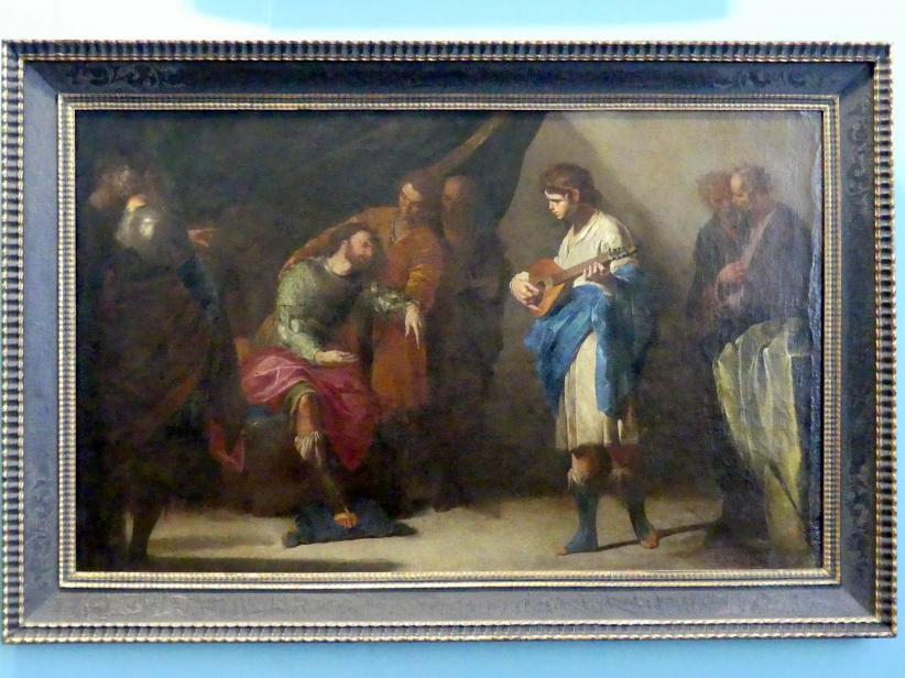 Bernardo Cavallino: David spielt vor Saul, nach 1645