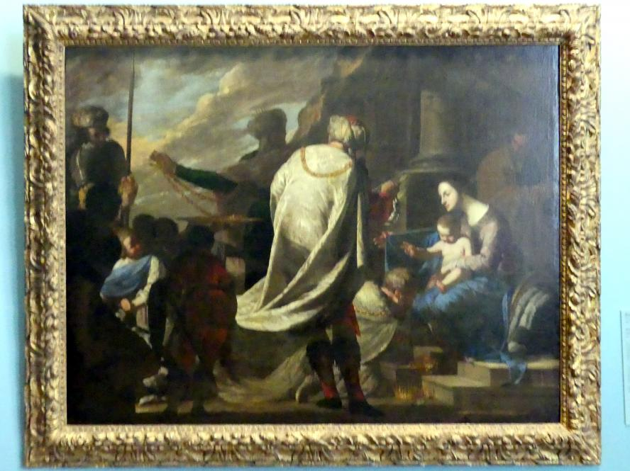 Bernardo Cavallino: Anbetung der Könige, um 1640
