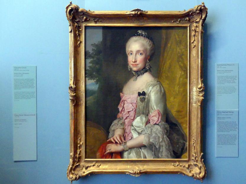 Anton Raphael Mengs: Infantin Maria Ludovika, Um 1764 - 1765