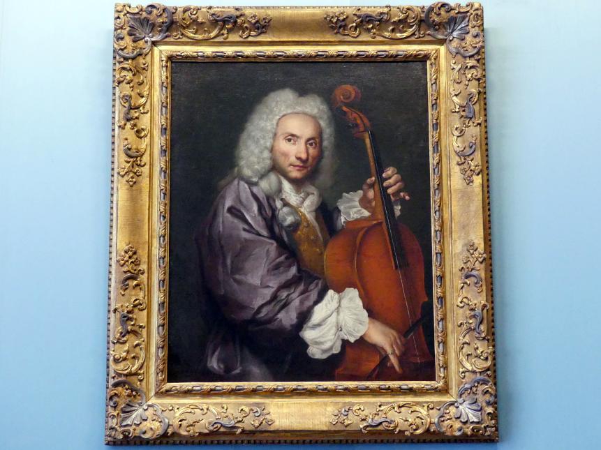 Giacomo Ceruti: Bildnis eines Cellospielers, Um 1745 - 1750