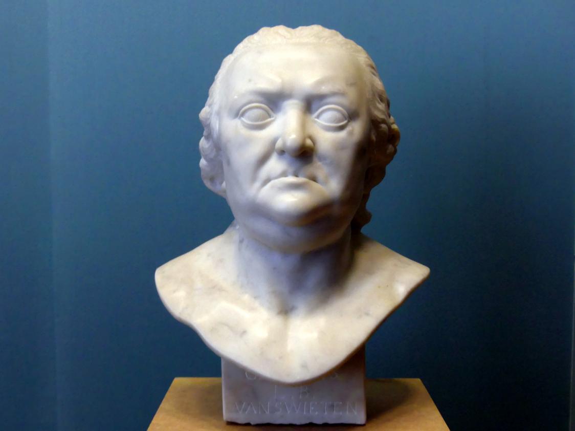 Franz Xaver Messerschmidt: Gerard van Swieten, Um 1770 - 1772