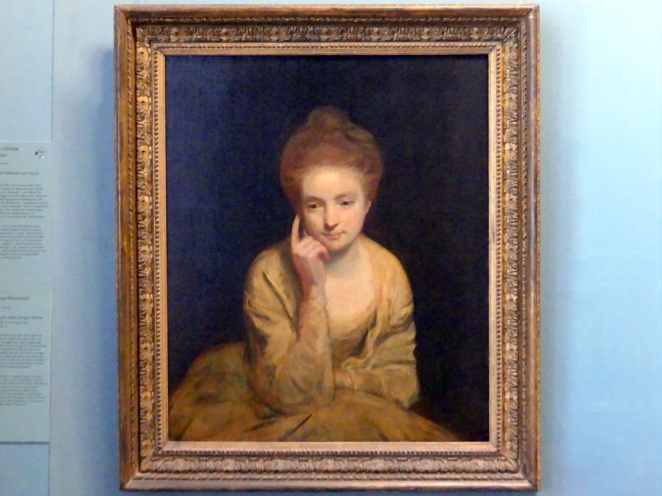 Joshua Reynolds: Bildnisstudie einer jungen Dame, um 1760 - 1765