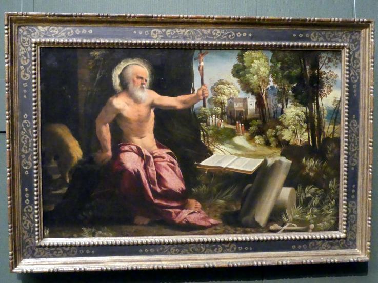 Giovanni Luteri (Dosso Dossi): Hl. Hieronymus, um 1520 - 1525