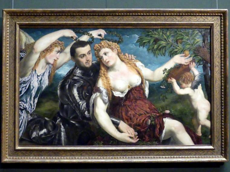 Paris Bordone: Allegorie, Um 1560