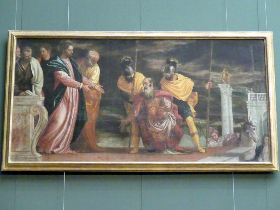 Paolo Caliari (Veronese): Christus und der Hauptmann von Kapharnaum, um 1585