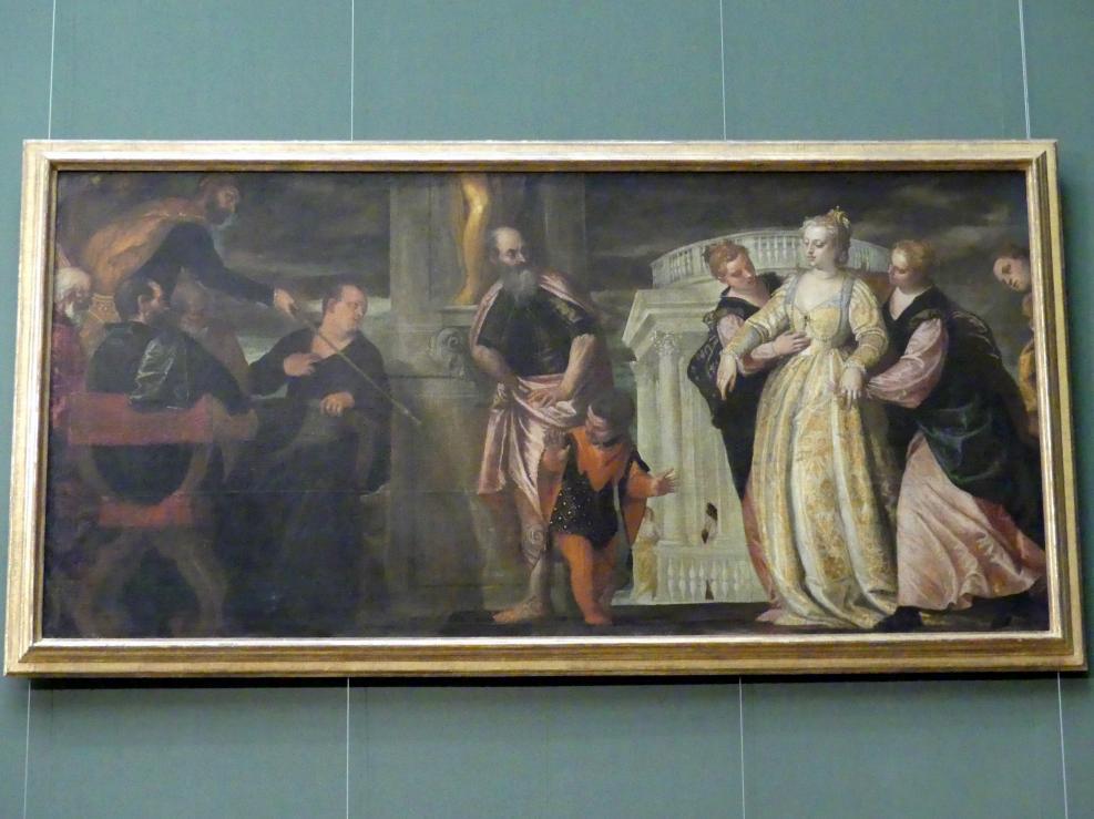 Paolo Caliari (Veronese): Esther vor Ahasver, Um 1585
