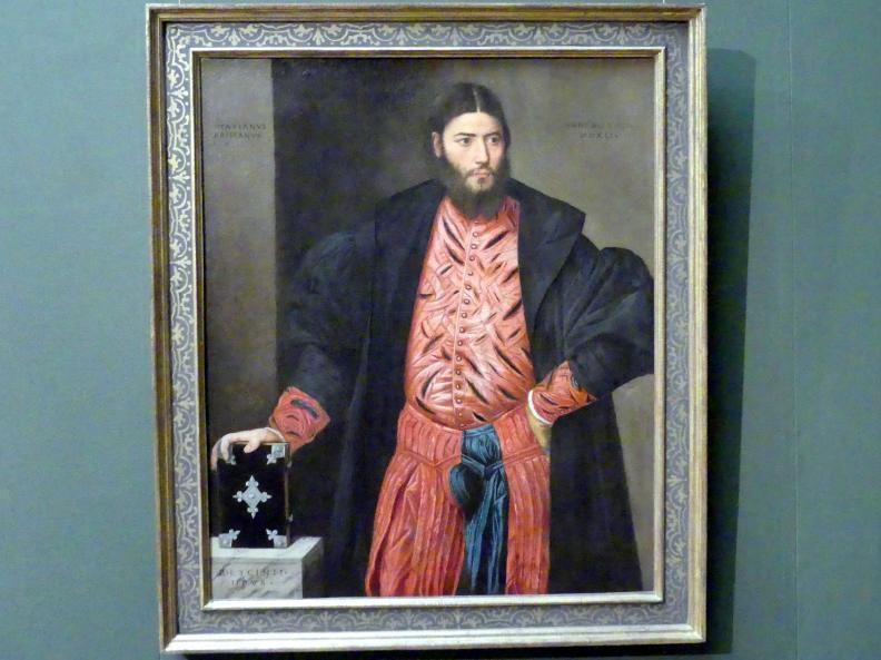 Bernardino Licinio: Bildnis des Ottaviano Grimani, 1541
