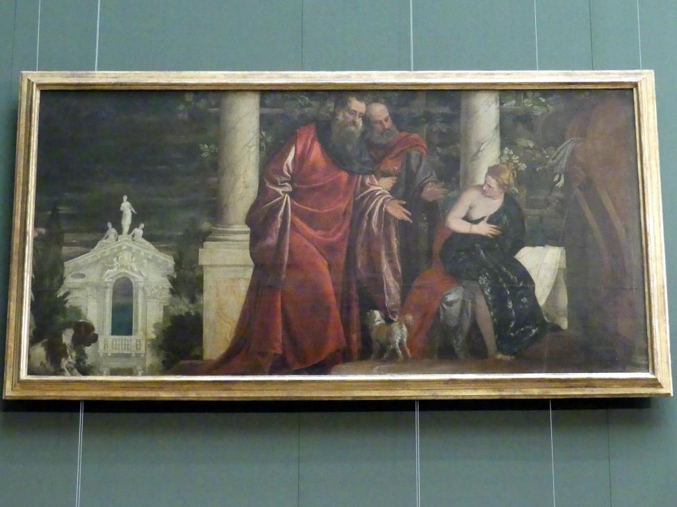 Paolo Caliari (Veronese): Susanna und die beiden Alten, um 1585