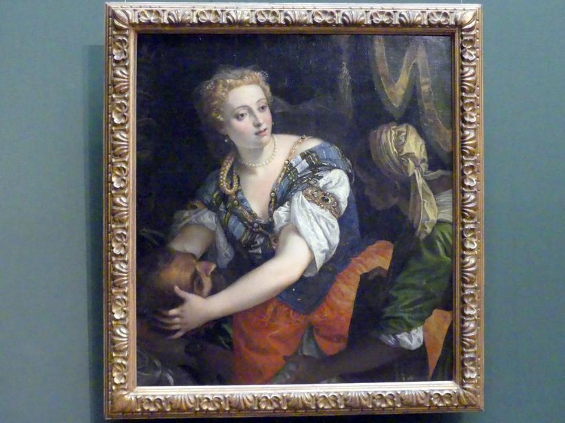 Paolo Caliari (Veronese): Judith mit dem Haupt des Holofernes, um 1582