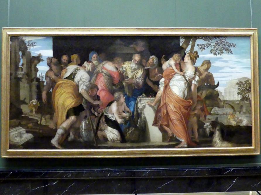 Paolo Caliari (Veronese): Salbung Davids, Um 1555
