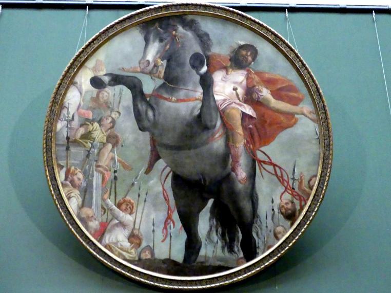 Paolo Caliari (Veronese): Opfertod des Marcus Curtius, um 1550 - 1552