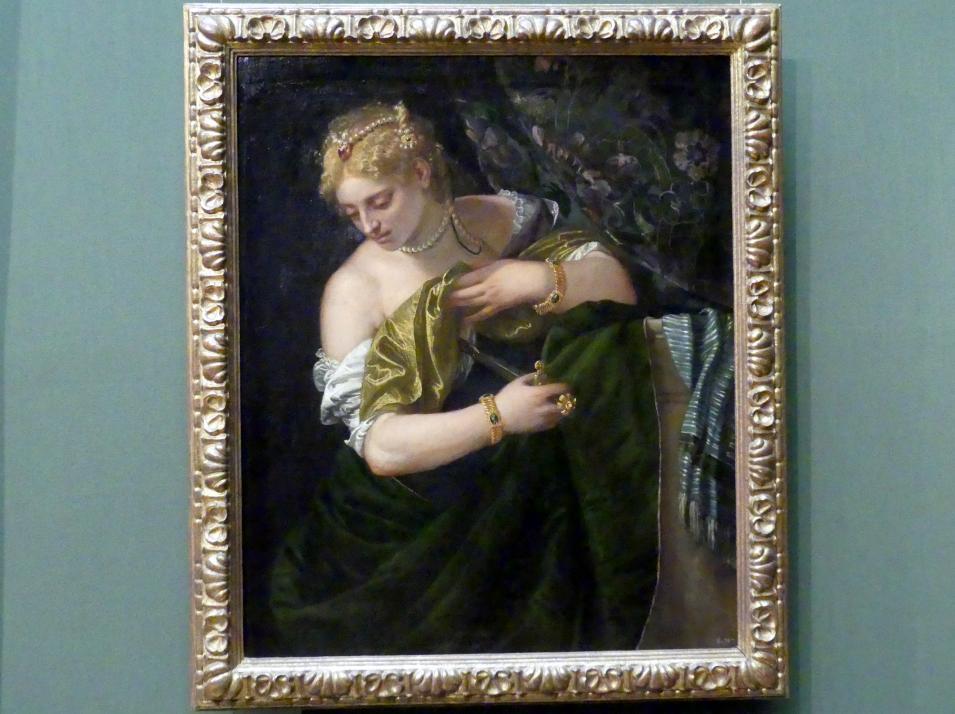 Paolo Caliari (Veronese): Lukrezia, um 1580 - 1583