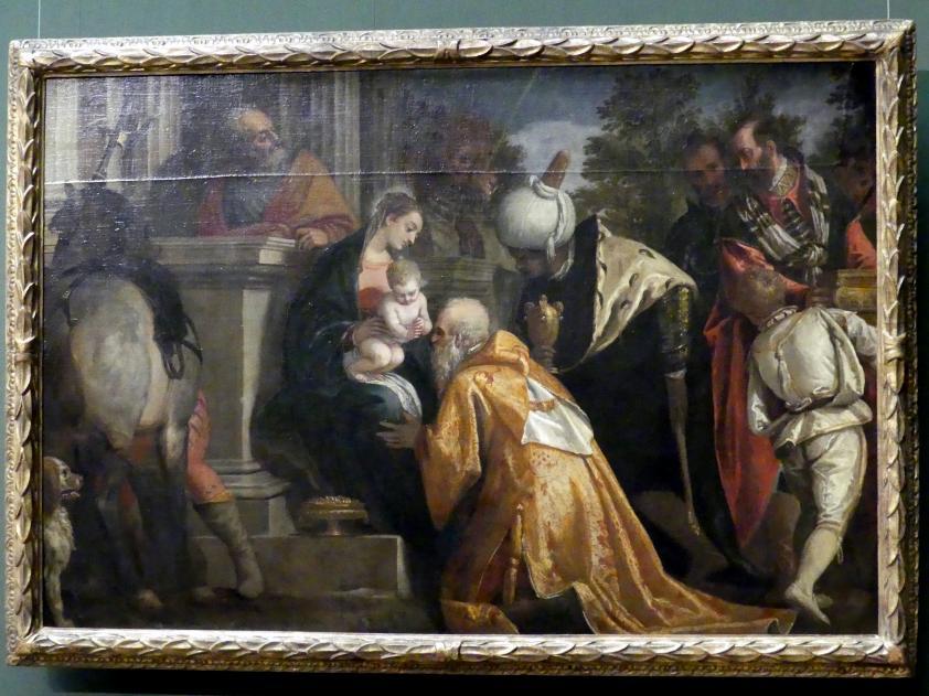 Paolo Caliari (Veronese): Anbetung der Könige, um 1580 - 1588