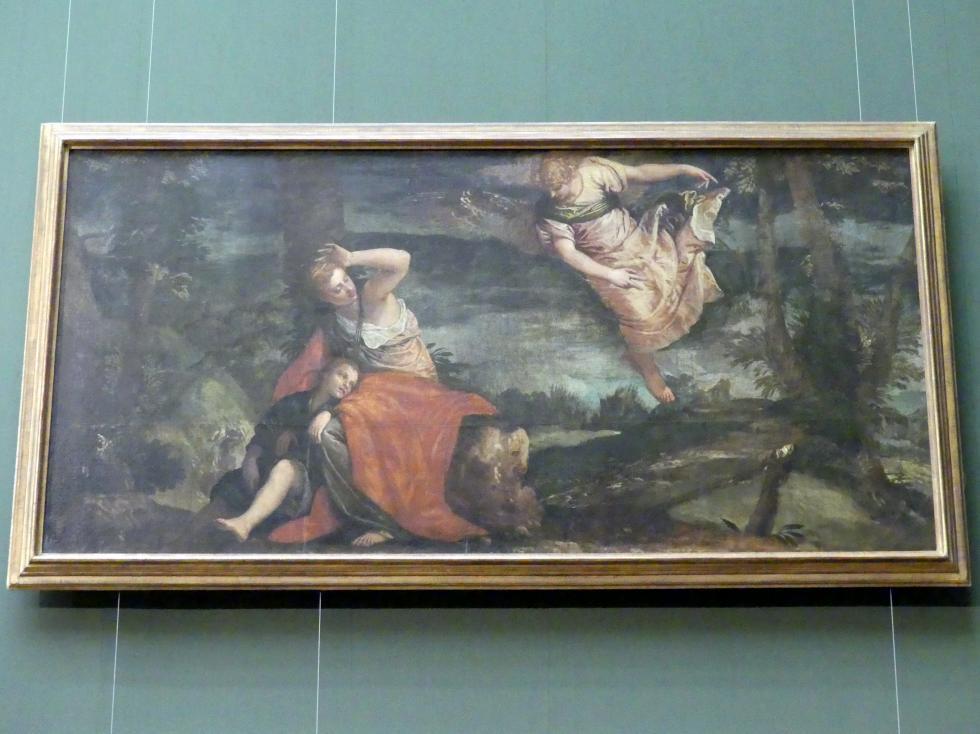 Paolo Caliari (Veronese): Der Engel erscheint Hagar in der Wüste, um 1585