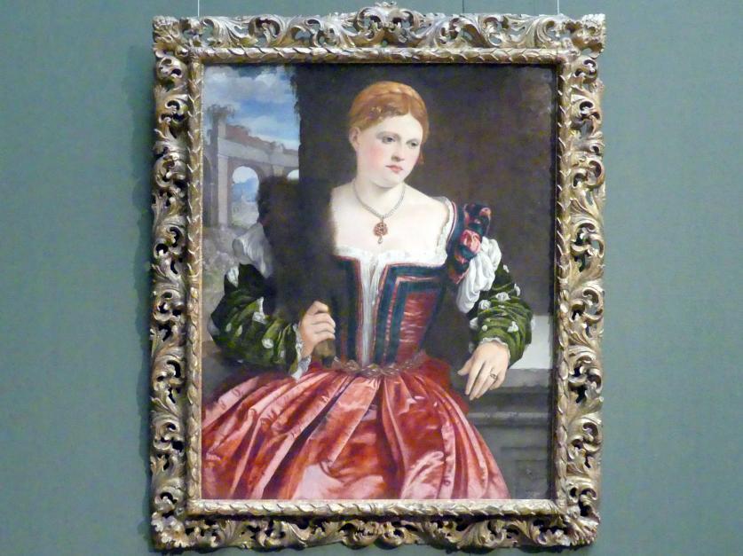 Bildnis einer jungen Dame, um 1540