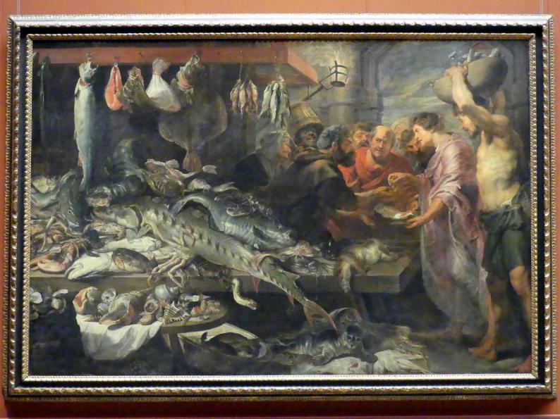 Frans Snyders: Fischmarkt, um 1621