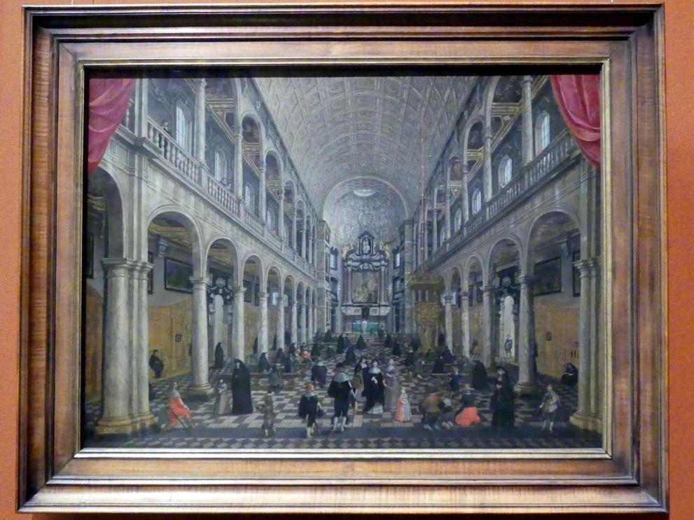 Sebastian Vrancx: Jesuitenkirche zu Antwerpen, um 1630