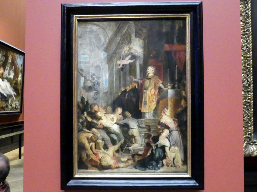 Peter Paul Rubens: Wunder des hl. Ignatius von Loyola, modello, um 1615 - 1616