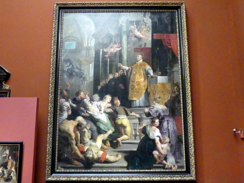 Peter Paul Rubens: Wunder des hl. Ignatius von Loyola, um 1617 - 1618