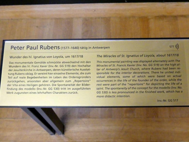 Peter Paul Rubens: Wunder des hl. Ignatius von Loyola, um 1617 - 1618, Bild 2/2