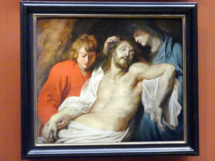 Peter Paul Rubens: Beweinung Christi durch Maria und Johannes, um 1614 - 1615