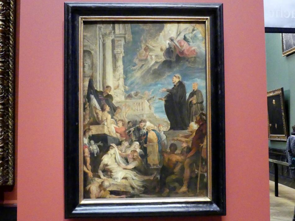 Peter Paul Rubens: Wunder des hl. Franz Xaver, modello, um 1616 - 1617