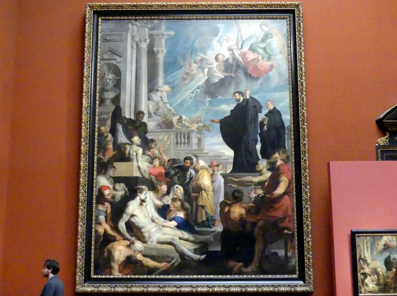 Peter Paul Rubens: Wunder des hl. Franz Xaver, um 1617 - 1618