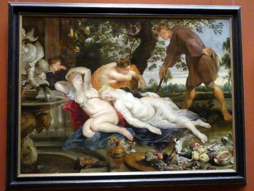 Peter Paul Rubens: Cimon und Efigenia, um 1617