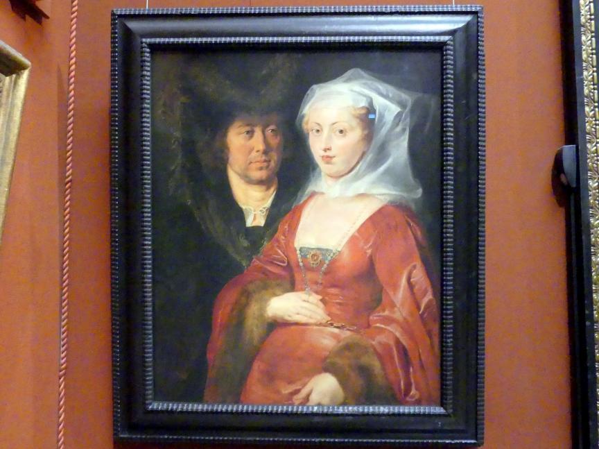 Peter Paul Rubens: Ansegius und hl. Bega, um 1612 - 1615