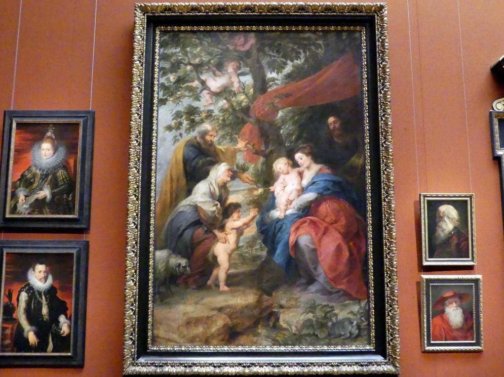Peter Paul Rubens: Die Heilige Familie unter dem Apfelbaum, 1630 - 1632