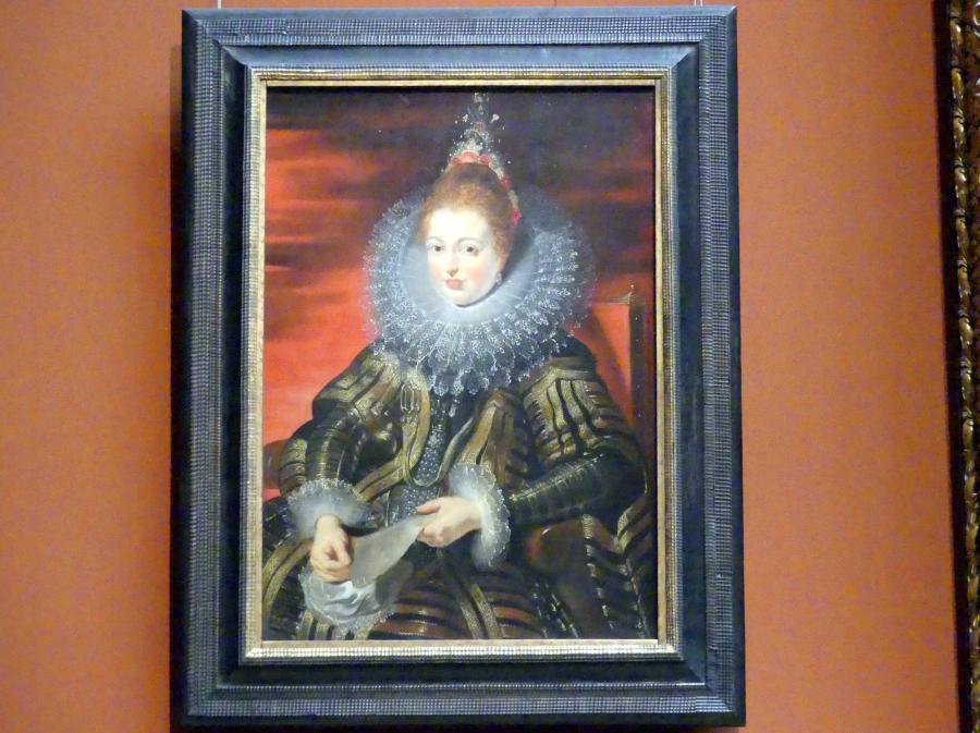 Peter Paul Rubens: Infantin Isabella Clara Eugenia, um 1615