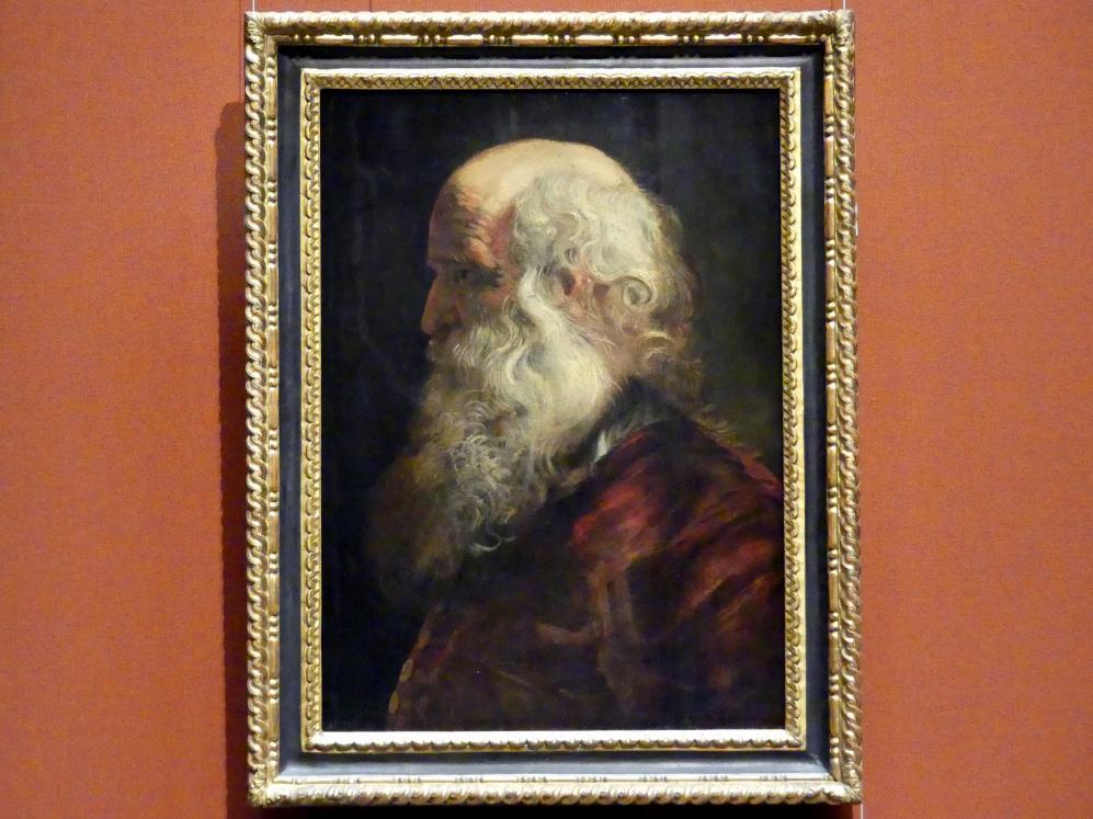 Peter Paul Rubens: Studienkopf eines Greises, 1610 - 1615
