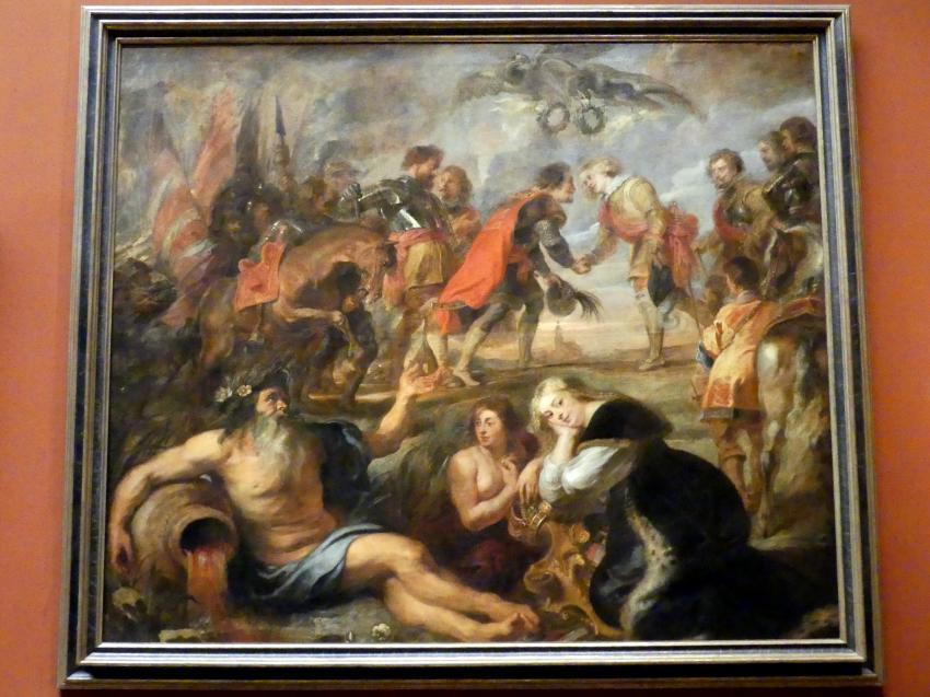 Peter Paul Rubens: Begegnung bei der Schlacht von Nördlingen, 1635