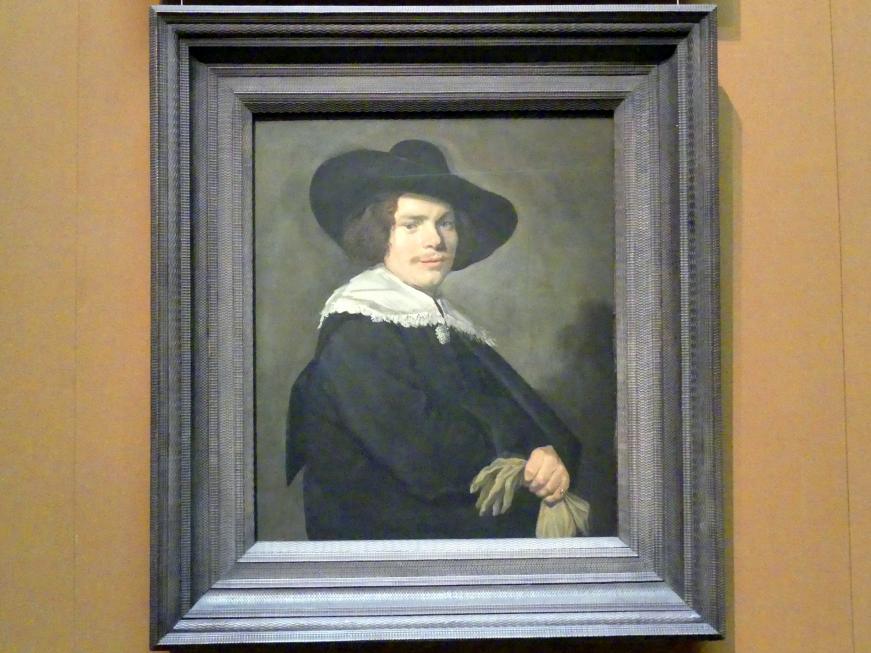Frans Hals: Bildnis eines jungen Mannes, um 1638 - 1640