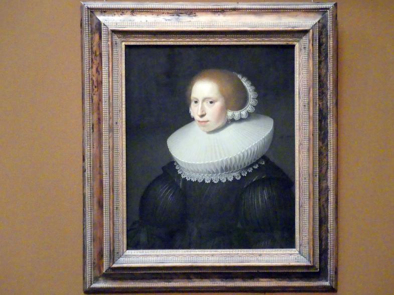 Michiel van Mierevelt: Bildnis einer jungen Frau, 1630, Bild 1/2