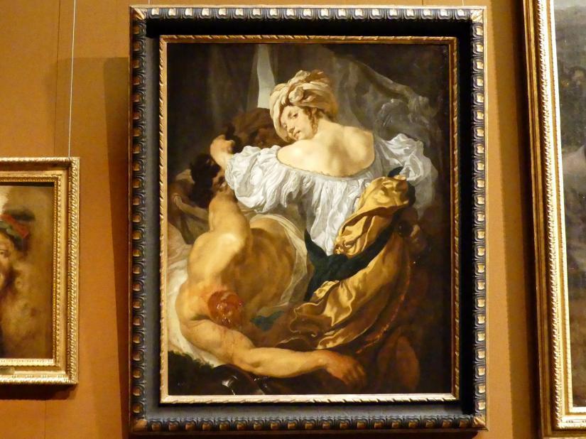 Johann Liss: Judith mit dem Haupt des Holofernes, Um 1630